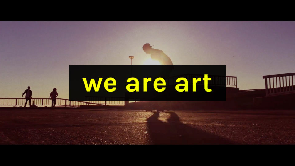 WE ARE ART promo