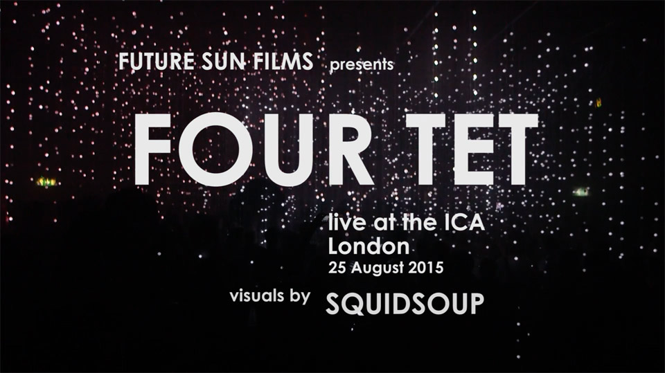 Four Tet live at the ICA